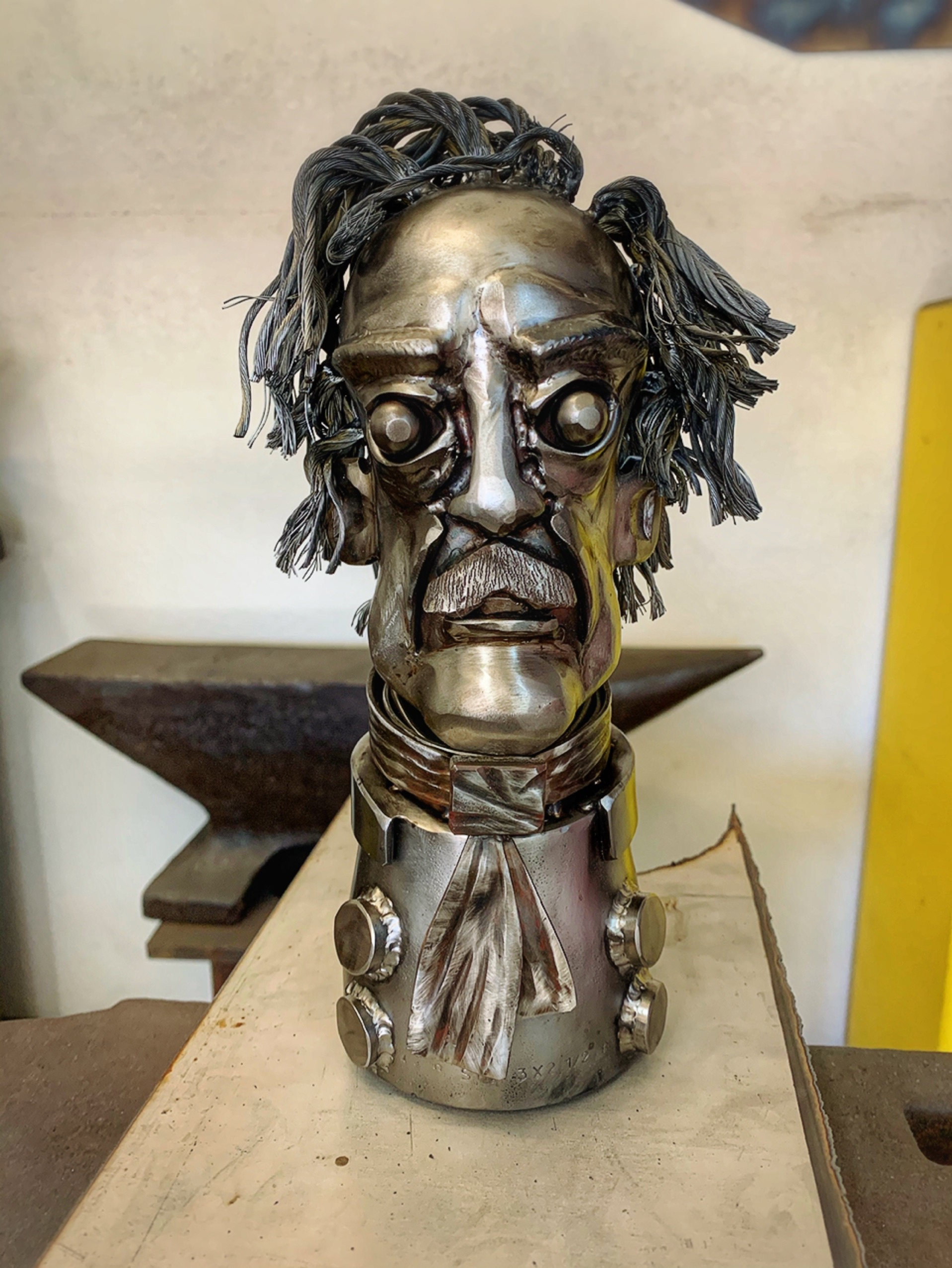 Edgar Allan Poe sculpture